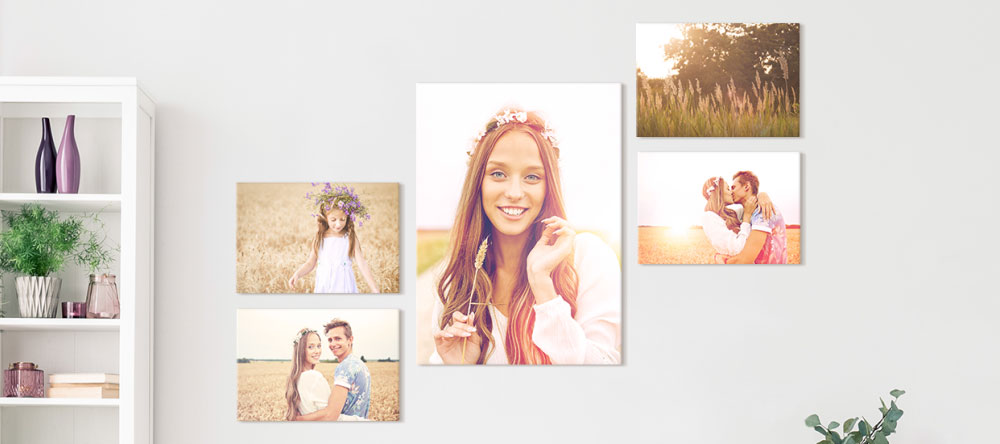 Why our canvas prints are some of the best. Family photo shoot collage.