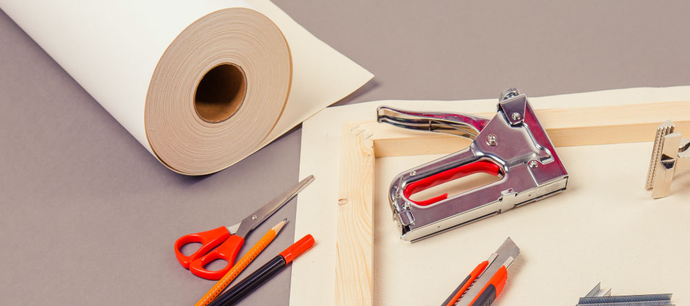 What is rolled canvas print.Tools for making canvas.