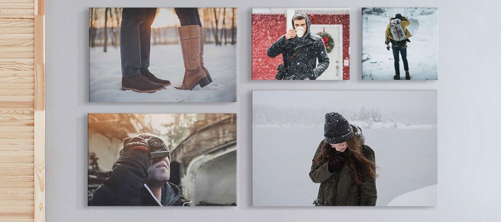 Christmas canvas prints. Canvas prints gallery wall.