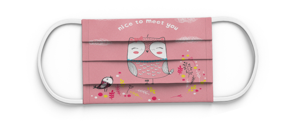 Where to Buy Custom Face Masks Online. Personalized face mask with print.