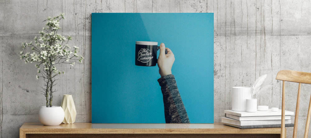 turning photos into acrylic prints coffee mug