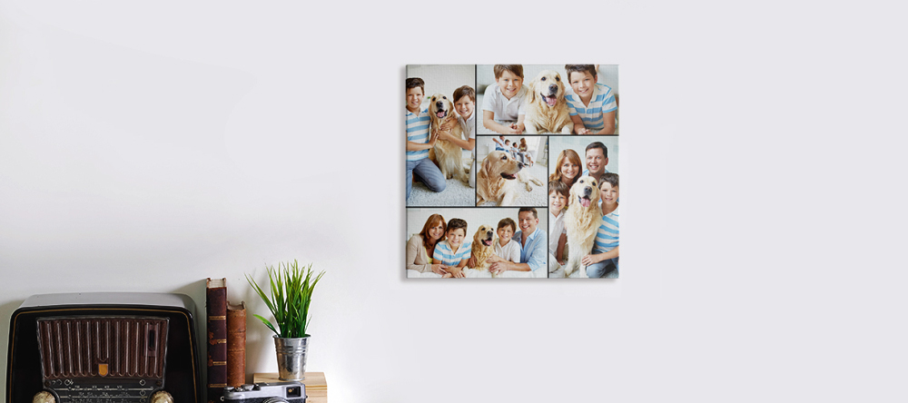 Canvas sizes - which is the best for me? Small 8 x 8 inches photo canvas print.