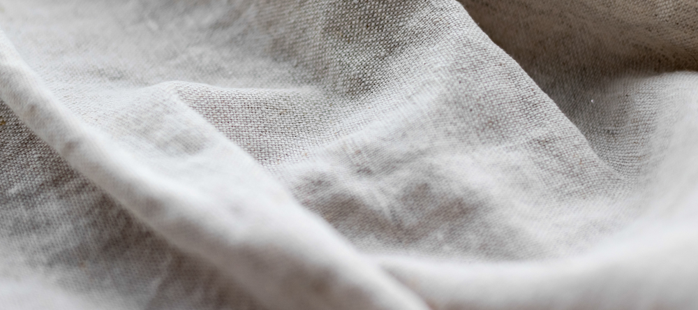 What is canvas made of. Close up photo of canvas fabric.