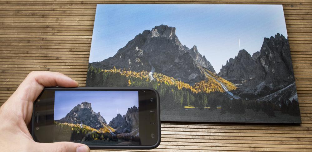 Was ist die beste Auflösung für eine Fotoleinwand. Fotos für eine Fotoleinwand mit dem Handy machen.