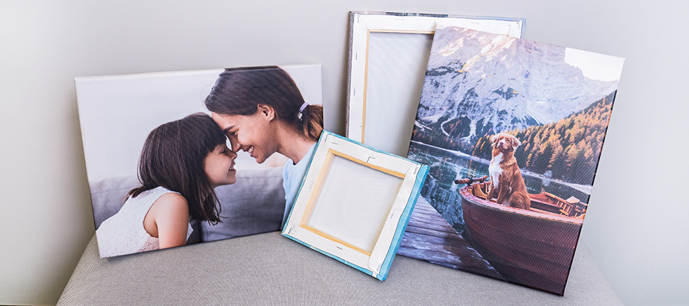 How to hang your canvas print the complete guide. Small format canvas.