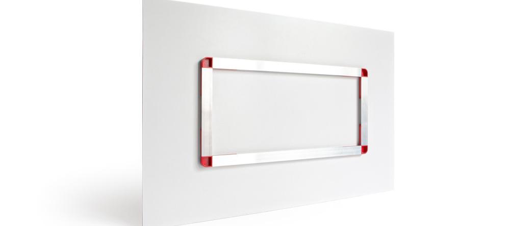 What is an Acrylic Print. Photo of aluminium backframe.