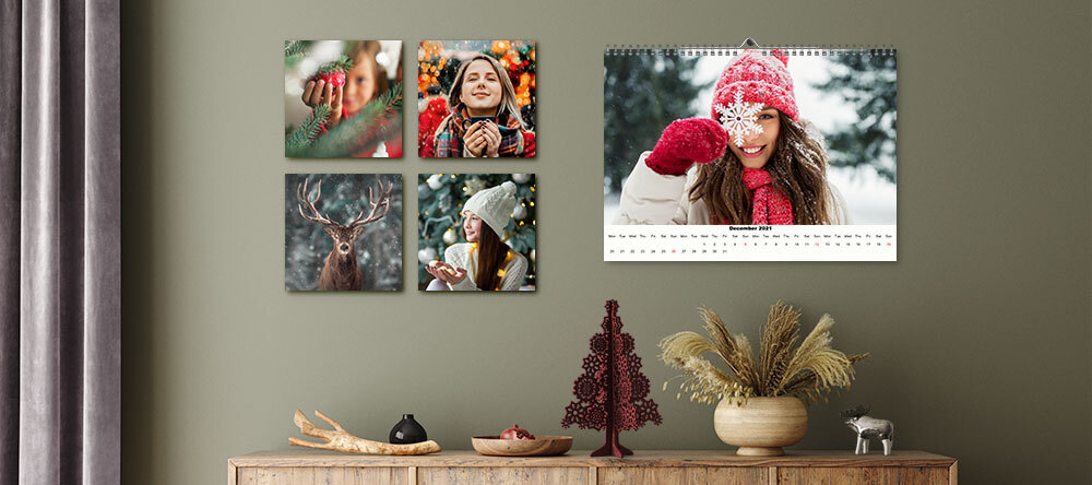 Photo Christmas Gift Finder: Custom Prints to Suit Everyone. MIXPIX® photo tiles and personalised Christmas calendar