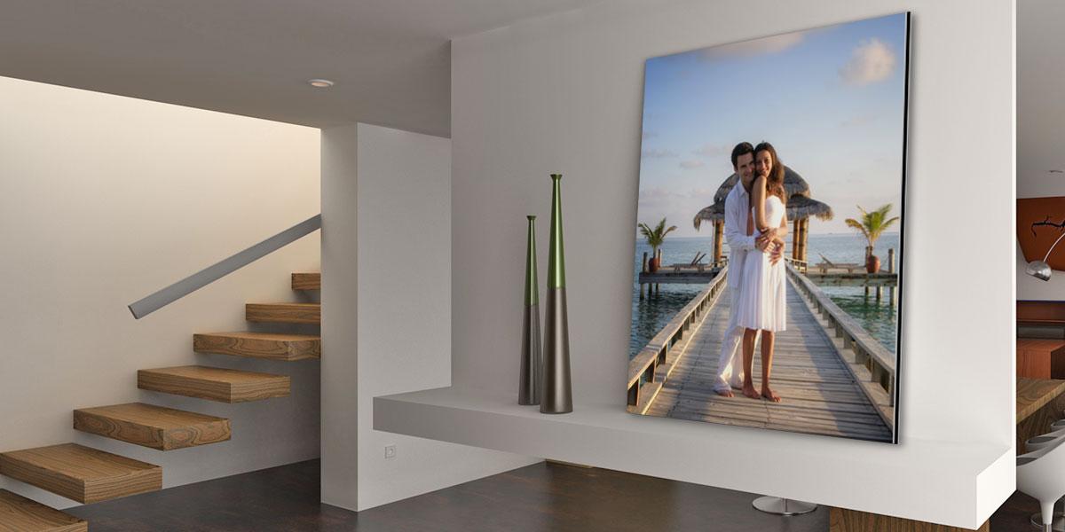 photo sur aluminium impression aluminium pas ch re 60. Black Bedroom Furniture Sets. Home Design Ideas